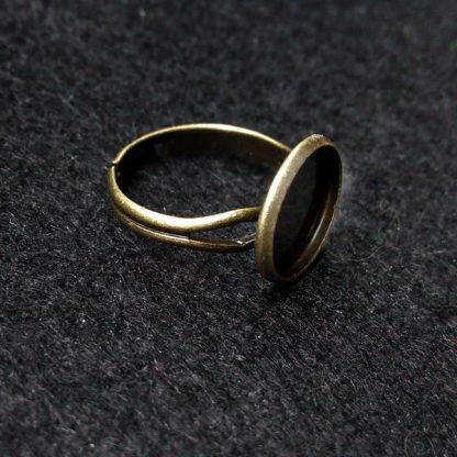 Основа для кольца 12мм бронза